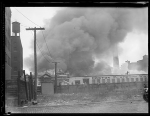 Fire at the Boston Plate Glass Co., South Boston