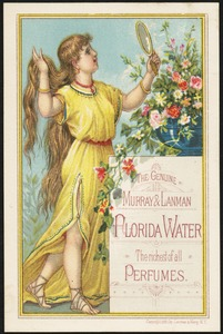 The genuine Murray & Lanman Florida Water, the richest of all perfumes