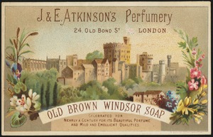 Old Brown Windsor Soap, celebrated for nearly a century for its beautiful perfume and mile and emollient qualities.