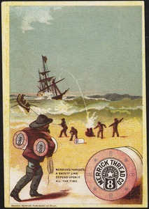 Merrick Thread Co., Best Six Cord, 8. Merrick's thread's a safety line depend upon it all the time.