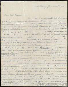 Letter from Anna Pane, Albany, [N.Y.], to William Lloyd Garrison, June 22nd / [18]41