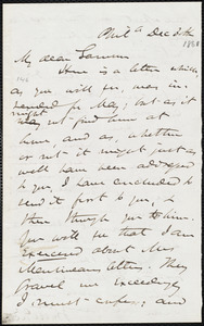 Letter from James Miller M'Kim, Phil[adelphi]a, [Pa.], to William Lloyd Garrison, Dec[ember] 30th [1861]