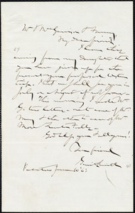 Letter from Gerrit Smith, Peterboro, [N.Y.], to William Lloyd Garrison, June 10 [18]63