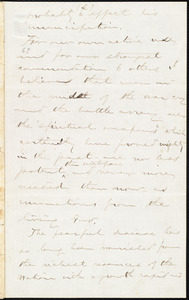 Letter from Aaron Macy Powell, [Ghent], to William Lloyd Garrison, [May 8, 1861]