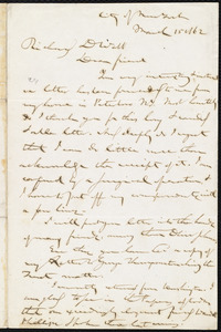 Letter from Gerrit Smith, [New York, N.Y.], to Richard Davis Webb, March 15 1862