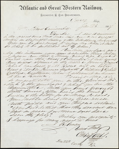 Letter from Owen Jones, Curry, [Pa.], to William Lloyd Garrison, Jan[uary] 25 1867