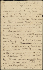 Letter from Frederick Douglass, Belfast, [Ireland], to Richard Davis Webb, 5th, Dec., 1845