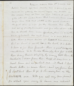 Letter from Frederick Douglass, Belfast [Ireland], to Richard Davis Webb, 6th, December 1845