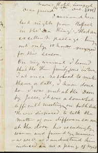 Letter from Frederick Douglass, Liverpool [England], to Richard Davis Webb, 14th, Dec. [1845]