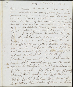 Letter from Frederick Douglass, Belfast [Ireland], to Richard Davis Webb, 24 Dec. 1845