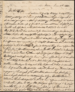 Letter from George Jeffrey Tillotson, New Haven, to Amos Augustus Phelps, 1830 June 10