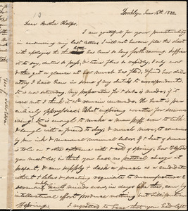 Letter from George Jeffrey Tillotson, Brooklyn, [Conn.], to Amos Augustus Phelps, 1832 June 16th