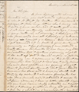 Letter from George Jeffrey Tillotson, Brooklyn, [Conn.], to Amos Augustus Phelps, 1834 March 11th