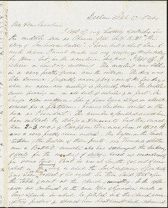 Letter from Edmund Quincy, Dedham, [Mass.], to Caroline Weston, Sept. 17, 1844