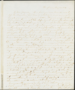 Letter from Evelina A. S. Smith, Hingham, [Mass.], to Caroline Weston, May 23, 1841