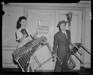 Buster Keaton and Ruth Moss