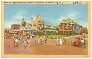 Marlborough-Blenheim Hotel, Atlantic City, N. J.