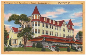 Buckingham Hotel, Sylvania Ave., Avon-by-the-Sea, N. J.