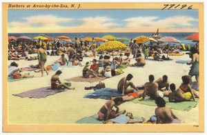 Bathers at Avon-by-the-Sea, N. J.