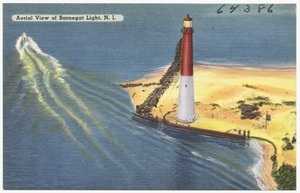 Aerial view of Barnegat Light, N. J.