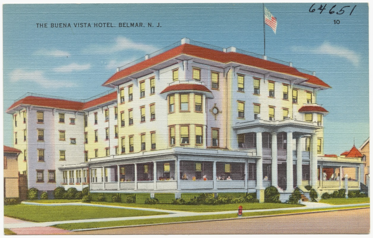 The Buena Vista Hotel Belmar N J