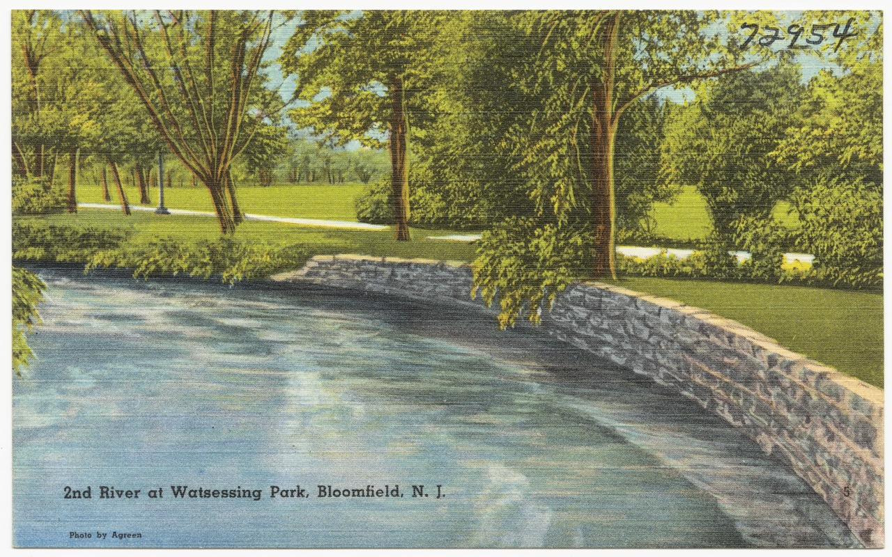 2nd river at Watsessing Park, Bloomfield, N. J.