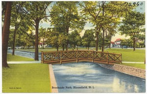 Brookside Park, Bloomfield, N. J.