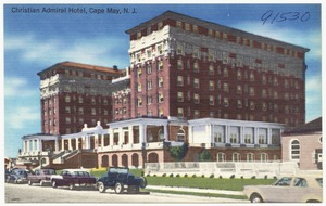 Christian Admiral Hotel, Cape May, N. J.