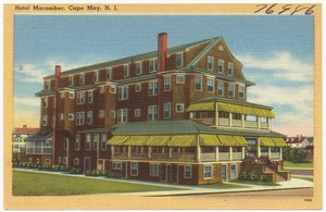 Hotel Macomber, Cape May, N. J.