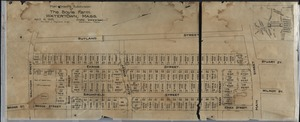 Plan showing subdivision of the Boyle Farm. Watertown, Mass.
