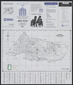 Map of Watertown Massachusetts
