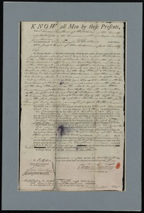 Mortgage deed, Francis Faulkner to Joseph Cordis Esq.