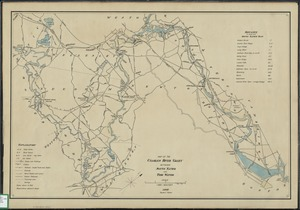 Map of the Charles River Valley between South Natick and tide water