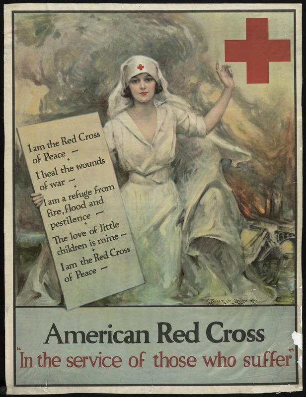 American Red Cross 'In the service of those who suffer'