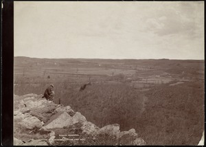 Wachusett Department, Nashua Reservoir site, northeasterly from Pine Hill (compare with No. 7300), West Boylston, Mass., Apr.-May 1897
