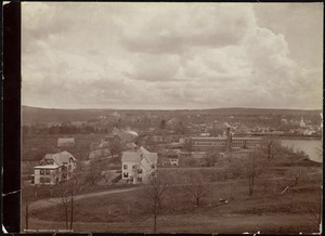 Wachusett Department, Nashua Reservoir site, view of Oakdale (compare with No. 7304), Oakdale, West Boylston, Mass., Apr.-May 1897