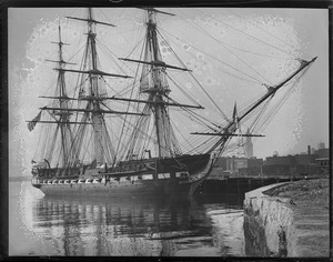 USS Constitution after touring U.S.