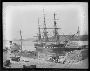 USS Constitution - back in Navy Yard