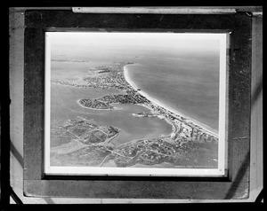 Aerial view of Nantasket Beach, Fairchild Aerial