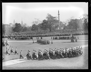 West Point cadets - Boston Common