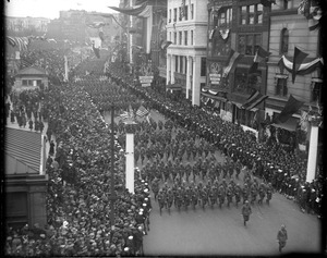 Y.D. [Yankee Division] Boys Parade, Tremont St.