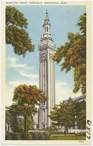 "Municipal Group ""Campanile"" Springfield, Mass."