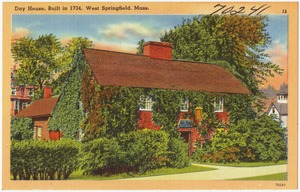 Day house, built in 1734, West Springfield, Mass.
