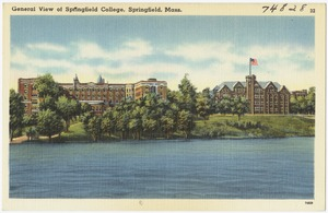 General view of Springfield College, Springfield, Mass.