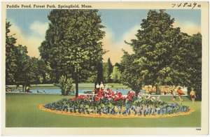 Paddle Pond, Forest Park, Springfield, Mass.