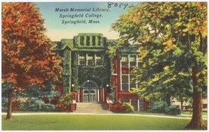 Marsh Memorial Library, Springfield College, Springfield, Mass.