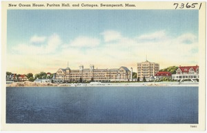 New Ocean House, Puritan Hall, and cottages, Swampscott, Mass.