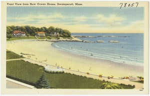 Front view from New Ocean House, Swampscott, Mass.