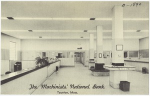 The Machinists' National Bank, Taunton, Mass.