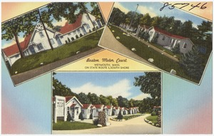 Boston Motor Court, Weymouth, Mass., on State Route 3, South Shore